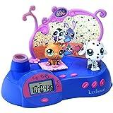 Lexibook Disney Princess RP300LPS Jeu Électronique Reveil Projecteur Littlest Pet Shop