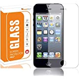 OpenTech® Tempered Glass Screen Protector for Apple iPhone SE with 3 Months Warranty