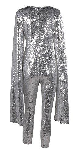 Missord - Combinaison - Cocktail - Manches Longues - Femme Silver2