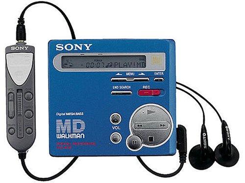 Sony mZ-r70/l-lecteur portable m...