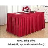 NSC Tischdecke Festival Party Cocktail Geburtstag Tisch Umliegende Tischdecke Auge Tischdecke Tischdecke Haushalt (größe : 180 * 45 * 75cm)