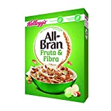 KelloggŽs All-Bran - Fruit & Fibre, Copos de trigo integral, 500 g - [pack de 5]