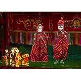 Jaipuri haat Handicraft Ethnic Designer Handmade Puppets Kathputli in pair