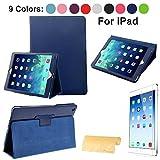 Schuthülle für Apple iPad 4 / iPad 2 / iPad 3, magnetisch, inkl. Displayschutzfolie blau