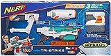 Hasbro Nerf b5577eu4–N-Strike Tri Strike Elite Modulus Blaster, Giocattolo Blaster
