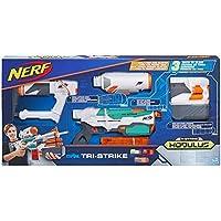 Hasbro B5577EU4 Nerf Modulus Tri Strike, Blaster Lanciadardi d'élite