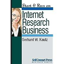 Start & Run an Internet Research Business (Start & Run Business Series) (English Edition)