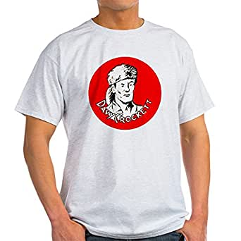 CafePress - Davy Crockett #1 Light T-Shirt - 100% Cotton T-Shirt