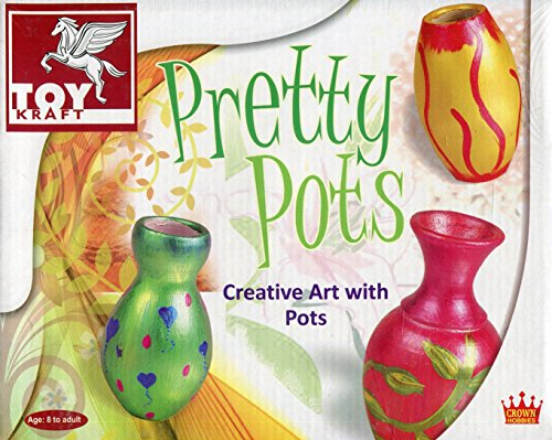schöne Keramik Kanne Vase Malerei Kunst & Handwerk Set Mädchen Geburtstag Weihnachtsgeschenk Ideas
