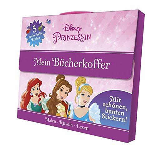 Disney Prinzessin: Mein Bücherkoffer: Malen - Rätseln - ()