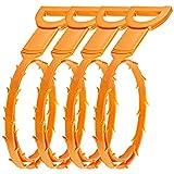 Senhai Haar Abfluss verstopfen Remover, 4er Pack ablassen Snake Equipment / Auger-Typ Reinigungswerkzeug
