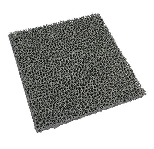 Flamado Feinstaub Rußfilter 200 x 200 x 22 mm Kamin Brennraum Ersatzteil
