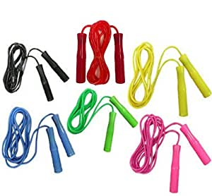 Boxing Jumping Skipping Speed Fitness / Work Out / Plastic / Nylon Rope Various Color (BLACK)