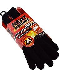 Chaleur garantie de chaleur pour homme 2,3 togs nominale de gants très chauds Noir