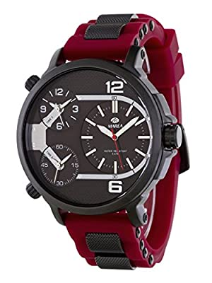 Reloj Marea Caballero B54088/4 Dual Time