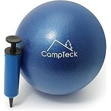 CampTeck U6812 Pelota Pilates Pequeña PVC Anti Pinchazos 23cm Pelota Yoga Balón  Pilates para el Ejercicio 74fc85744bed