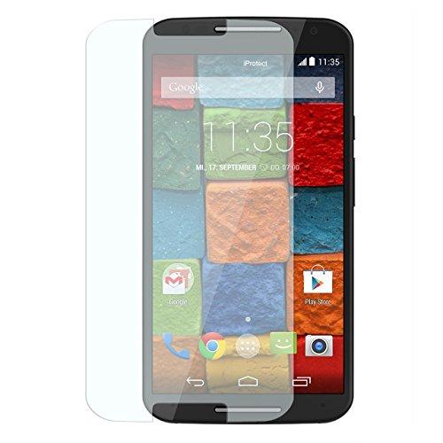 ector Tempered Glass Hartglas Schutzfolie für Motorola Moto X (2. Generation) Display Schutzglas Glasfolie 0,3mm ()