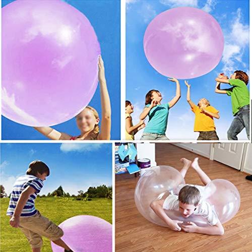 VIDOO 1 Meter Riesig Erstaunliche Reißfeste Wubble Bubble Ball Kinder Aufblasbares Spielzeug