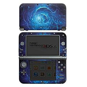 DeinDesign Nintendo New 3DS XL Case Skin Sticker aus Vinyl-Folie Aufkleber Strom Galaxie Licht