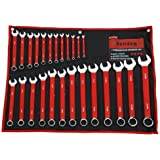 Spanner Set 25pc (Combination Red Pvc Dipped) 6-32mm