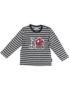 SALT AND PEPPER Baby-Jungen Langarmshirt B Longsleeve Little Man Stripe