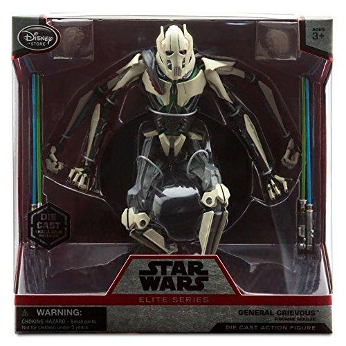 Star Wars Exclusive 6.5'' Elite Series Die-Cast Figure General Grievous by Disney