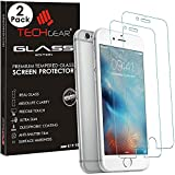 Best unknown iPhone 5 Screen Protectors - [2 Pack of] TECHGEAR® Apple iPhone 6s, iPhone Review