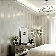 LFNRR Hoher Qualität Einfach Und Modern Vliestapeten Schlafzimmer  Wohnzimmer Sofa TV Hintergrund Wand Solid Gold Silber