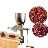 SISHUINIANHUA Manuale Coffee Grinder Medicina Crusher Grains Hebals Cereali Cibo Secco Grinder Spezie Grinding Machine Mulino in Polvere per Farina