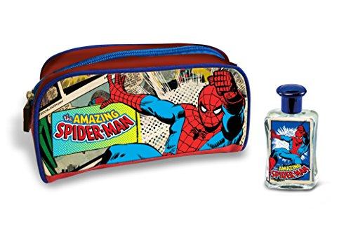 Marvel The Amazing Spiderman Coffret Cadeau Eau de Toilette et sac, 1er Pack (1 x 2 pièces)