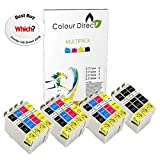 15 XL Colour Direct Kompatibel Druckerpatronen Ersatz für EPSON STYLUS S20, SX100, SX105, SX110, SX115, SX200, SX205, SX210, SX215, SX218, SX400, SX405, SX410, SX415, SX510W, SX515W, SX600FW, SX610FW, BX300F, BX3450, CX4300, S21, D120, D5050, D78, D92, DX400, DX4000, DX4050, DX4400, DX4450, DX5000, DX5050, DX6000, DX6050, DX7450, DX8450, DX7000F, DX7400, DX8400, DX8450, DX9400, DX9400F, BX310FN Drucker