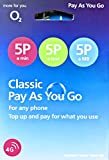 When you join Classic Pay As You Go, you pay for what you use, as you go.  Enjoy 5p/mins Calls, 5p Texts and 5p/MB data with the o2 Pay as you Go Classic Sim Card. The sim is triple size - adaptable to standard/micro and nano to fit all phones and de...