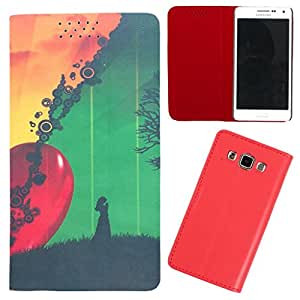 DooDa - For Nokia X dual SIM / x+ Dual SIM PU Leather Designer Fashionable Fancy Flip Case Cover Pouch With Smooth Inner Velvet