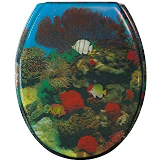 Sanitop-Wingenroth Toilet Seat with 3D Reef Design 7