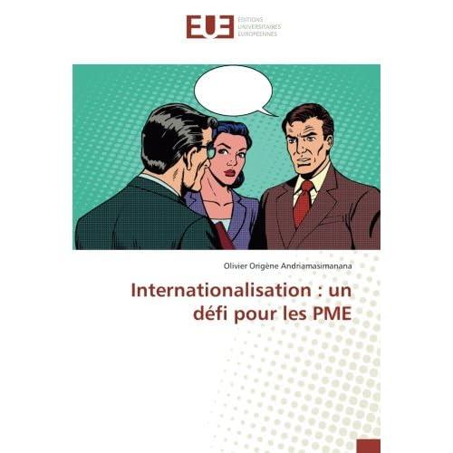 Internationalisation : un defi pour les PME