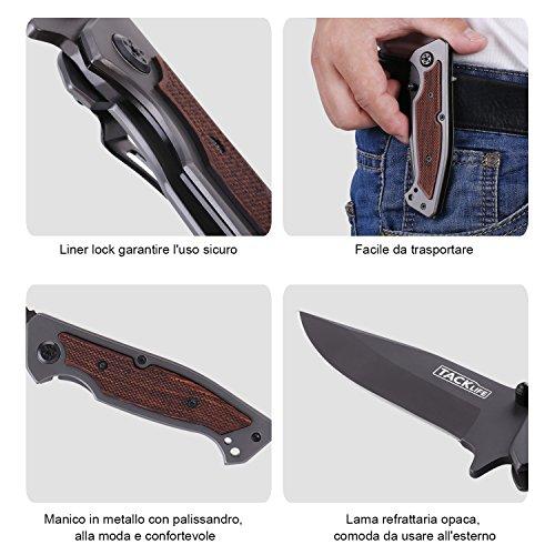 Zoom IMG-1 tacklife fk01 coltello pieghevole avanzato