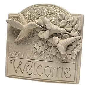carruth 137Colibri Plaque Bienvenue