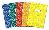 HERMA 20211Cuaderno Sobres A4schooly Ghundoo, plástico, Set con 5unidades de cada 1de fundas en color azul, rojo, verde, amarillo, naranja, con diseño