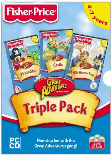 fisher-price-great-adventure-triple-pack-pirate-castle-western