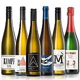 GEILE WEINE Weinpaket RIESLING (6 x 0,75l) Deutscher Weißwein von Winzern aus Rheingau, Pfalz, Saar und Rheinhessen