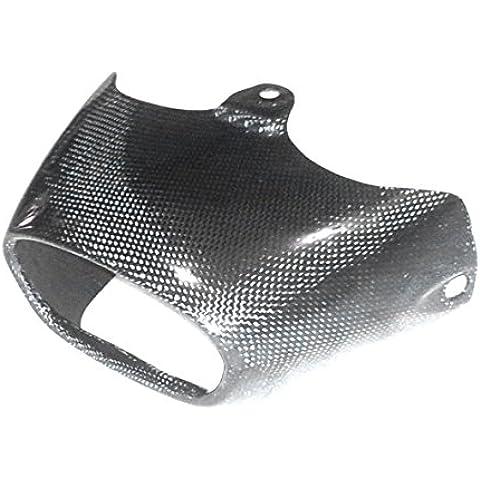nosolomoto Extremo de la tapa del silenciador. Motos Honda CBR 1000 RR. Años: 04/05 - Fibra de Carbono