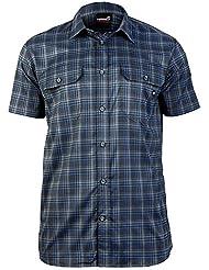 ternua Men Marton exterior Camisa/1481098 – 6074 Hombre Camisa De Trekking gris (M)