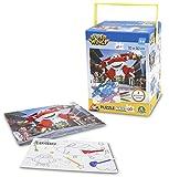 Superwings - Puzzle Doble Cara con rotuladores con 120 Piezas (Giochi Preziosi UPW24000)