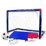 Georgie Porgy Tragbare Kinder Fußball Tor Tür Tor Baby Fußball Ball Indoor und Outdoor Sport (Football Door 2803)