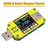 Innovateking-EU UM34 USB Multimeter Voltmeter USB Tester Spannungsprüfer Amperemeter USB-Spannung Strom USB Power Meter Ladekapazität Temperatur des Ladegeräts Digital Meter Tester