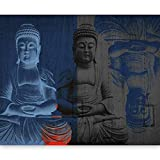 murando - Fototapete 300x231 cm - Vlies Tapete - Moderne Wanddeko - Design Tapete - Wandtapete - Wand Dekoration - Buddha 10040907-45