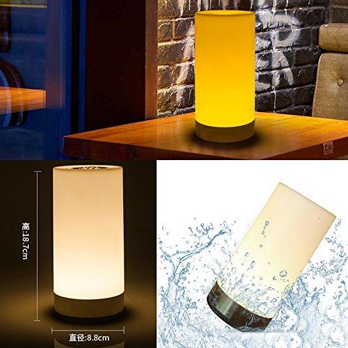 Té de velas sin llama de la lámpara eléctrica más tenue, con cargador, batería recargable de Navidad LED, luces de barra de la iluminación del partido bombillas LED
