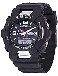 BLUTECH Analogue - Digital Boys' Watch (Black Dial)