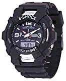 BLUTECH Analogue Digital Black Dial boys and kids Watch