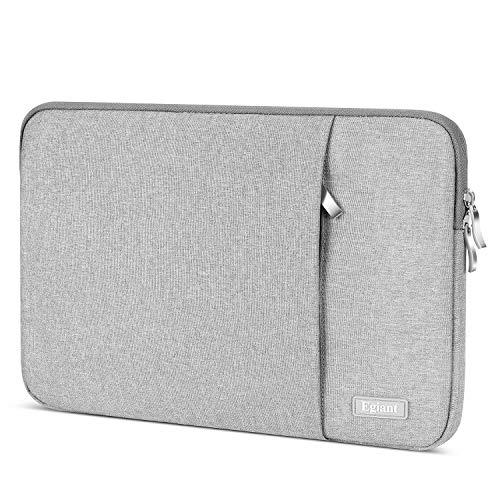 Laptop-Hülle 11,6 Zoll, Egiant Wasserfeste Schutzhülle aus Chromebook für 11,6 Zoll Stream 11 | Mac Air 11 12 Mac 12 | iPad Tablet | Surface Pro 4 5 | Chromebook 11, Notebook-Abdeckung,Grau